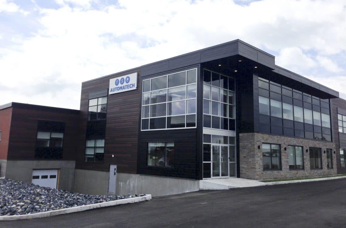 NSE Automatech inaugure ses nouvelles installations de Granby